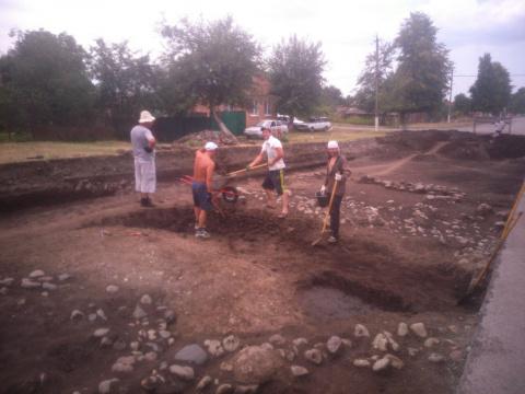 В селении Ногир обнаружили курган эпохи ранней бронзы