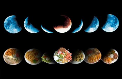 Как питаться по Луне!