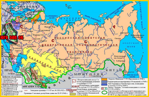 Украина будет Юго-Западным Ф…