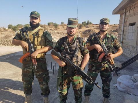 Сирия: кто он «неожиданный» союзник правительства. Yurasumy
