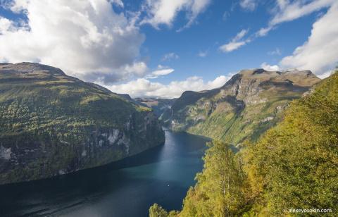 Норвегия. Гейрангер фьорд и …