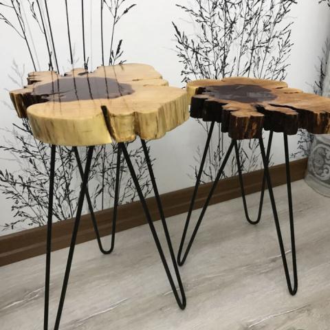 Мебель из куска дерева (подб…