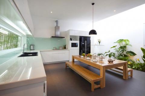 Кухня и комнатные цветы.