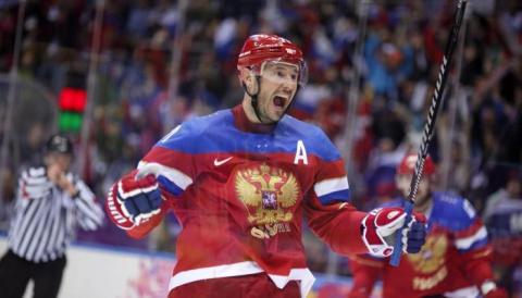 Сборная России по хоккею разгромила шведов на Кубке Карьяла