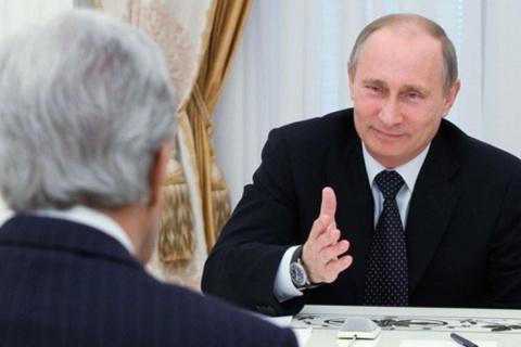 Джон Керри «чудесно» вел себя на встрече с главой МИД России