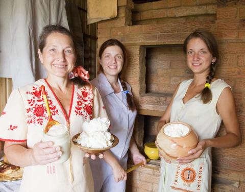 Русская печь в интерьере современного загородного дома
