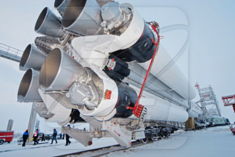 На Байконуре началась подготовка стартового комплекса к пуску по программе «Протон-М/ТуркСат-4А»