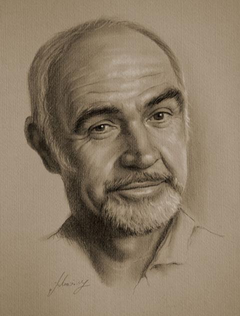 Портреты знаменитостей от Кристофа Лукашевича