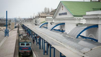 В Севастополе неизвестный «заминировал» вокзал