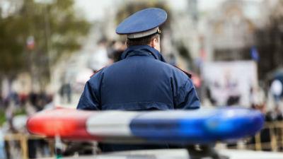 В Подмосковье полицейский бр…