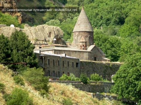 Монастырь Гегард в Армении
