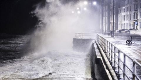 Северо-запад Англии уходит под воду