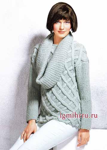 Два пуловера со снудами