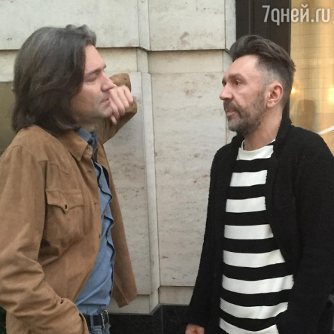 Сергей Шнуров и Дмитрий Мали…