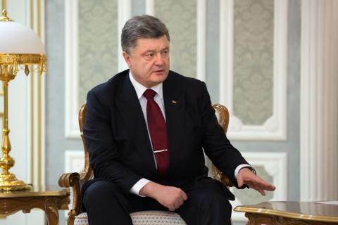 Петр Порошенко выступил против российских миротворцев