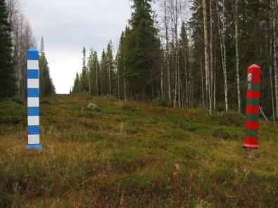 """Немцы в поисках адреналина """"сбегали"""" из Финляндии в Россию на шесть минут"""