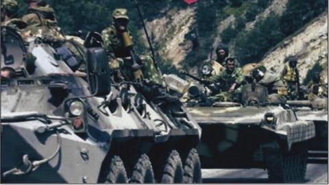 Семён Семенченко и депутаты Рады «доказали» конгрессу российское вторжение фотографиями 2008 года