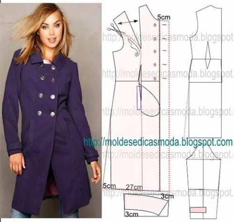 Три выкройки стильных жакетов (плюс пальто)
