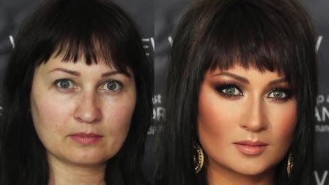 Чудеса макияжа: превращение …