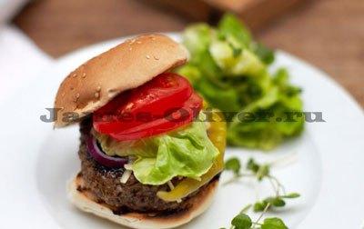 Большие домашние чизбургеры