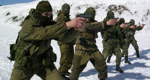 Кадыровский спецназ в тылу Халифата