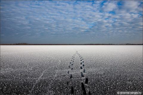 На планете замёрзших озёр