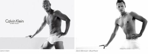 Журналисты пересняли рекламу Calvin Klein с собой в главных ролях