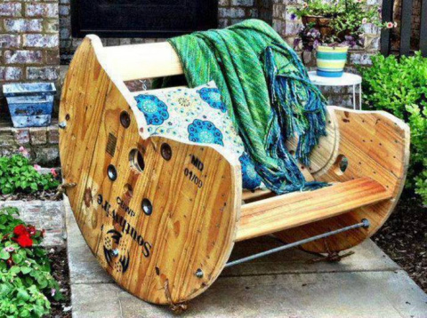14 идей по созданию дачной мебели своими руками