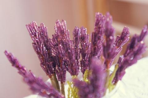 Цветы избисера