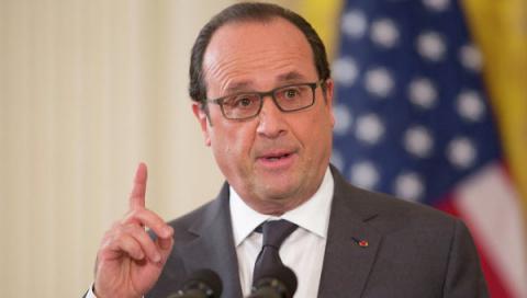 Олланд призвал закрыть границу между Турцией и Сирией