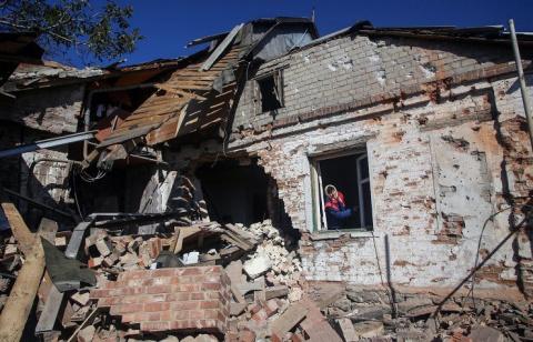 Марьинка. Спланировано в Киеве