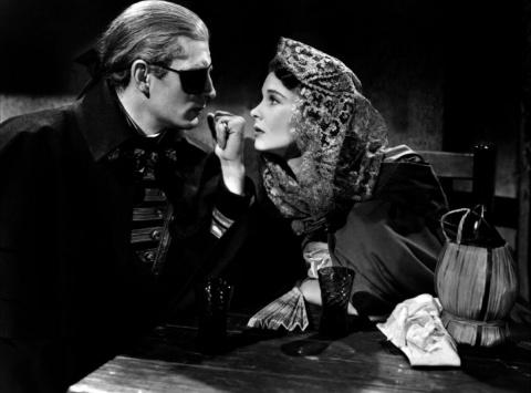 """Вивьен Ли и Лоуренс Оливье в фильме """"Леди Гамильтон"""". 1941 год."""