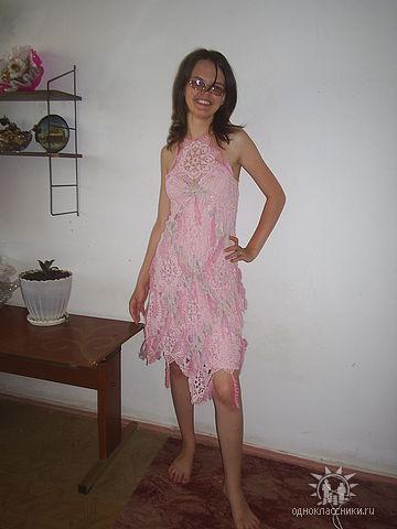 Платье (крючок)