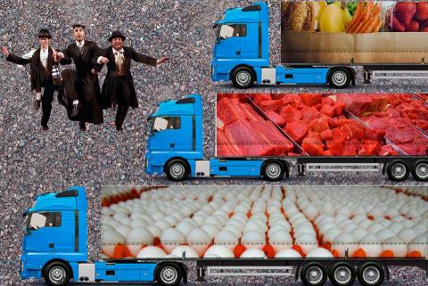 Россия забросает Израиль яйцами