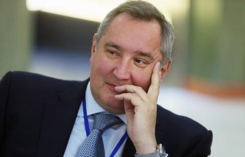 Рогозин на вопрос об отношен…