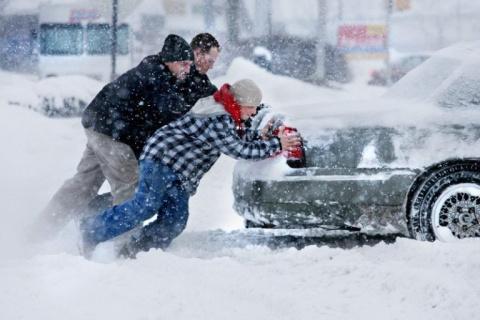 Как заводить машину зимой: е…