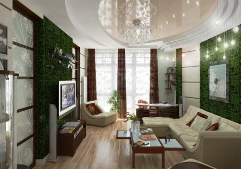 Дизайн маленького зала в хрущевке, или как создать «нетленку»