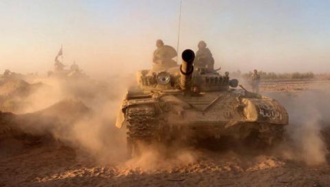 Сирийская армия взяла под по…