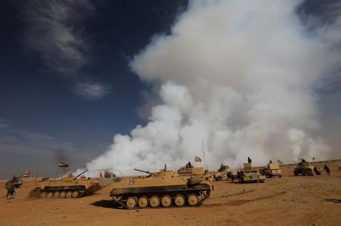 Армия Ирака начала наступление на ИГИЛ в районах Старого города в Мосуле