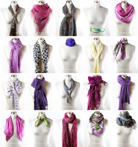 Как просто и со вкусом завязать шарф