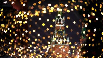На Манежке в новогодние праз…