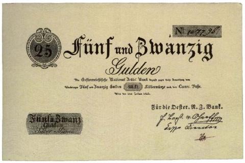 Банкноты Австро-Венгрии 1811-1834 гг.