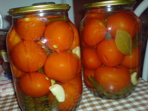 Консервация : помидоры от Серёги