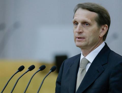Если ничего не изменится, Евросоюз ждёт крах  (Сергей Нарышкин)