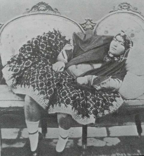 Разрыв шаблона — красавицы из гарема иранского шаха без прикрас и чадры