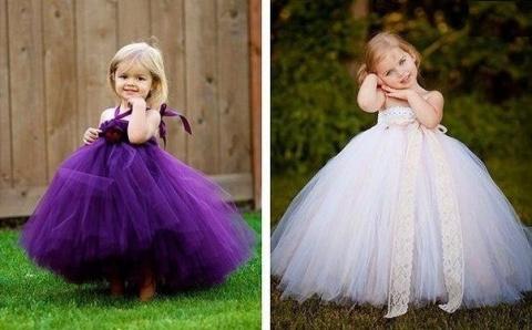 Праздничное платье из фатина…