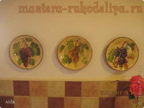 Тарелка с кракелюром из ПВА. МК
