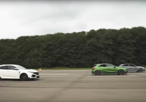 Audi RS3, AMG A45, Civic Typ…