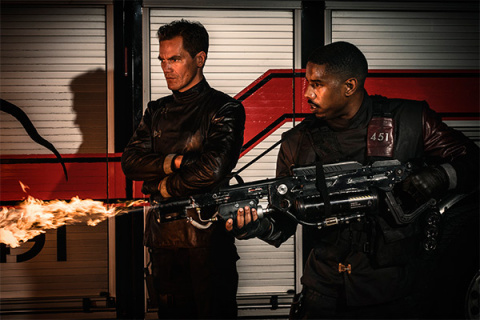 Трейлер дня:  Экранизация романа «451 градус по Фаренгейту» Рэя Бредбери