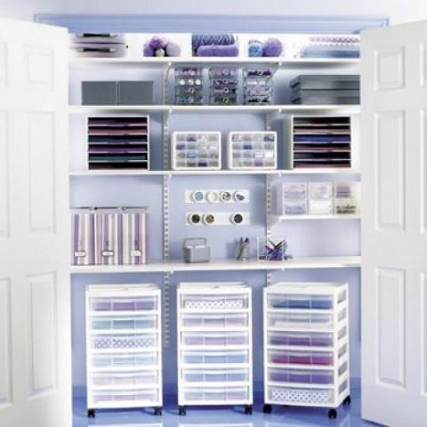Системы хранения для рукодельниц
